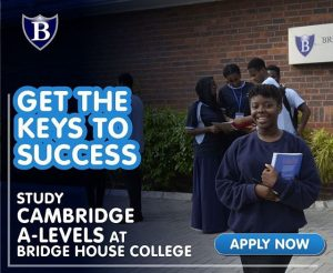 Cambridge A Level at Bridge House College, Lagos