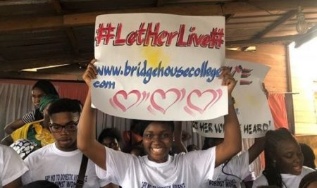 #LetHerLive: Bridge House Students Domestic Violence Sensitization Initiative Launch