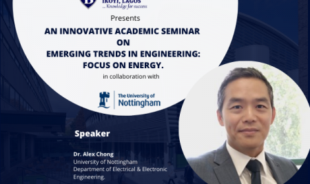 BHC Innovative Academic Seminar: Emerging Trends in Engineering a focus on energy